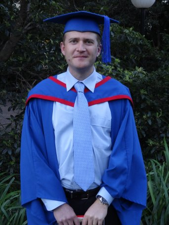 Sean Elphick Graduation Photo